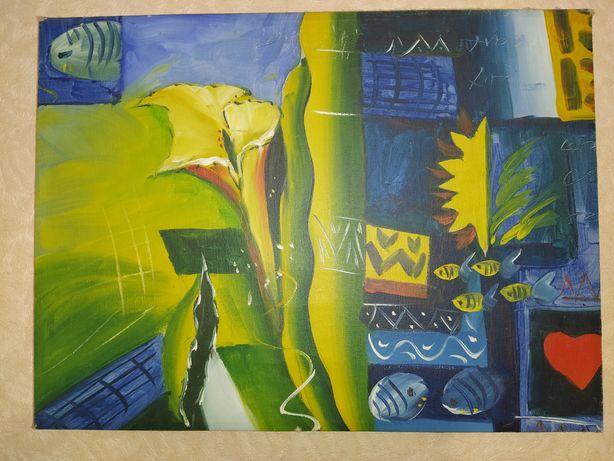 Картина абстракция
