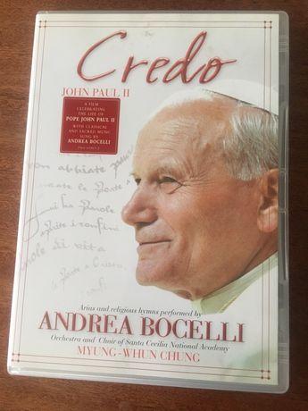 Андреа Бочелли Credo Andrea Bocelli музыка диск лицензия