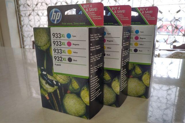 Катридж HP 933XL(C2P42AE) 4-pack,оригинальные в заводской упаковке.