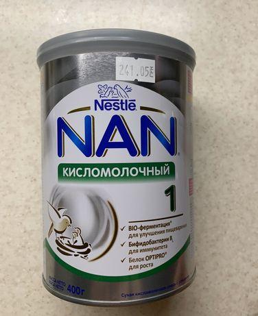 Детская смесь Nestle NAN кисломолочный 1