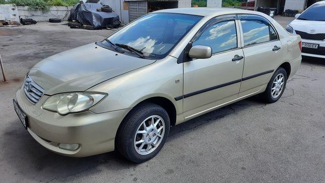 BYD F3 2007 1.6  газ/бензин