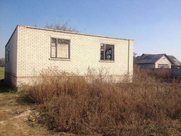 С. Степанки / продам участок 0,25 + недостроенный дом