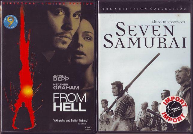 DVD's - From Hell + 7 Samurai