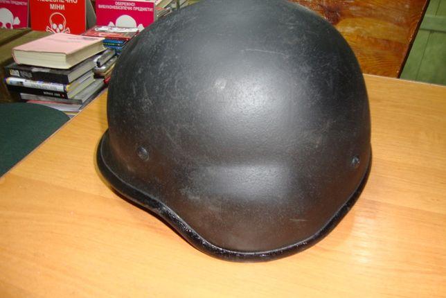 Шлем металлический чёрный