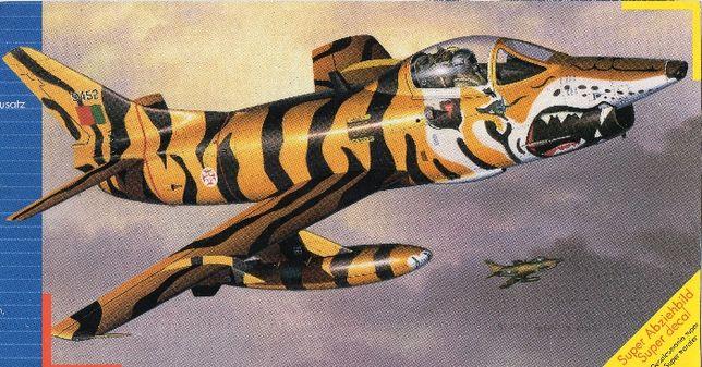 Kit de montar Fiat G.91 Tiger-Meet FAP