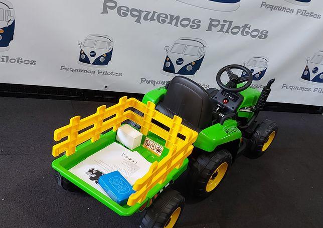 Trator electrico para crianças a bateria 12v NOVO