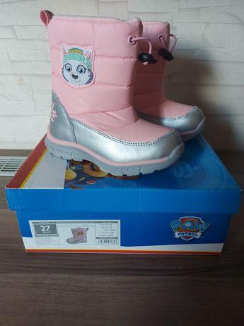 Buty dzieciece śniegowce Nowe
