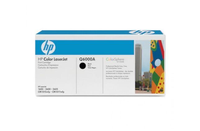 Toner HP Q6000A 124A BLACK BOX Oryginał!