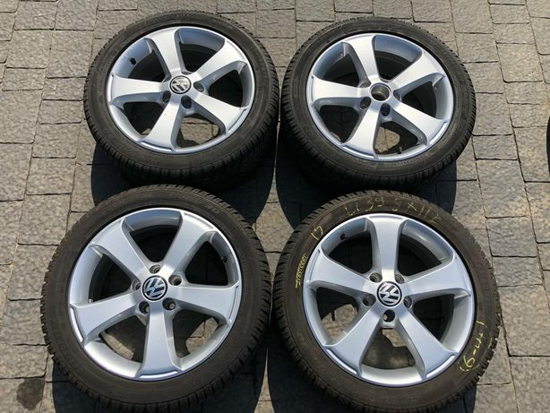 R17 5×112 Vw original,Audi,Skoda, 205/50R17 Dunlop