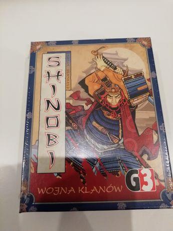 Gra karciana Shinobi wojna klanów zafoliowana