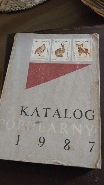 Katalog popularny znaczków 1987