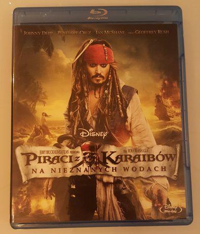 Piraci z Karaibów Na nieznanych wodach Blu-ray