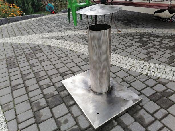 Nasada kominowa ze stali kwasowej