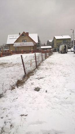 Atrakcyjna działka budow, dzielnica domków jednorodz przy węźle A4, S1