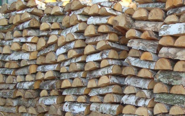 Drewno kominkowe i opałowe-PROMOCJA Ceny Brzoza 190 z Tartak