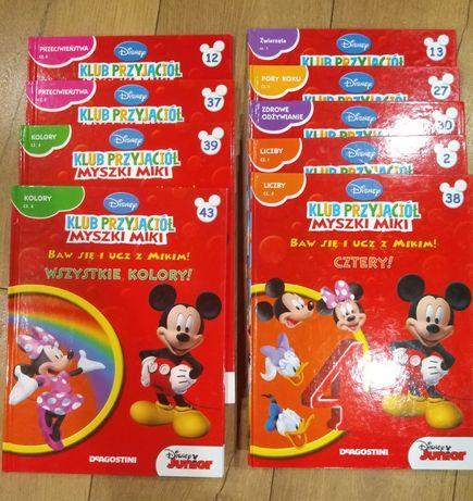 Baw się i ucz z Mikim 9 książeczek dla najmlodszych