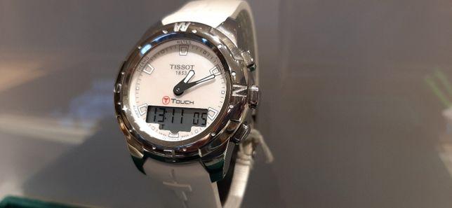 PROMOCJA Tissot T0472.2047.11100 T-TouchII Ladies Titanium NOWY