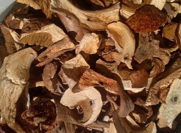 гриби білі сушені