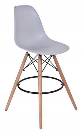 2 hokery krzesła barowe