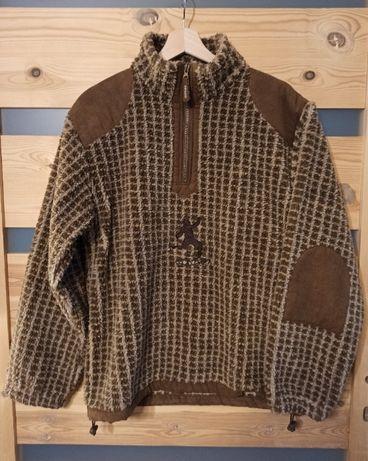 Sondre polar bluza sherpa nowerska vintage retro