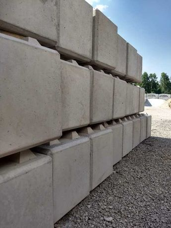 Bloczki betonowe LEGO mur oporowy, blok, klocki.