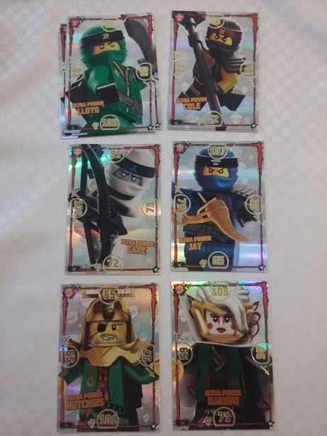 Karty lego NINJAGO seria 3 limited Edition LE multipack