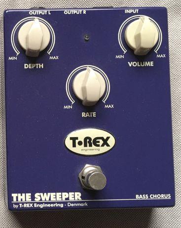Pedal Baixo Stereo Chorus T-Rex Bass Sweeper