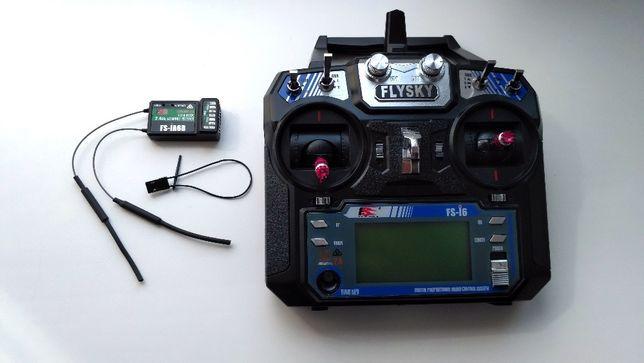 Аппаратура радиоуправления Flysky FS-i6 mode 2, с приемником FS-iA6B