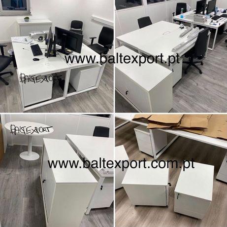 Secretaria Mesa reuniao Balcao recepcao Armario escritorio, etc Novo