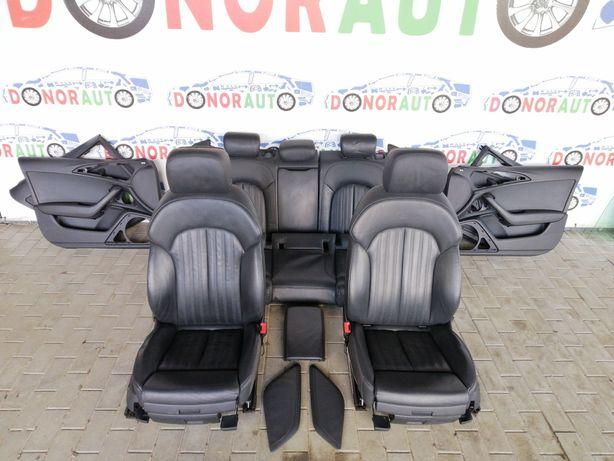 Салон Audi A6 C7 S-Line седан сидіння сиденья разборка
