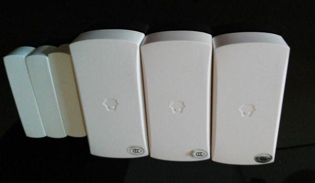 10 sensores magnéticos porta/janela DWC-102 Wireless (315mhz)