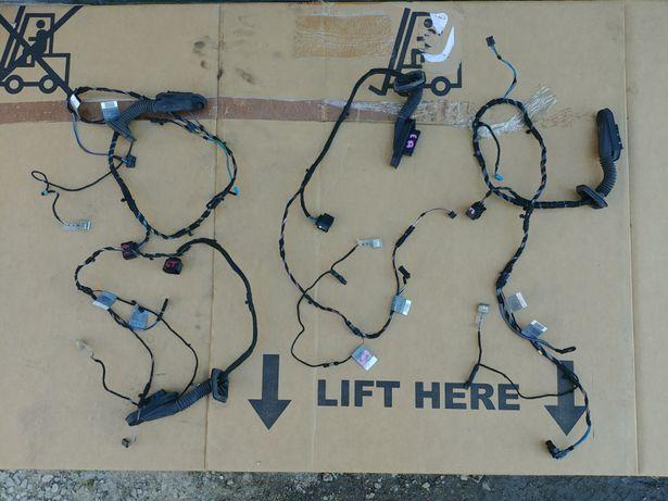 Wiazka instalacja drzwi BMW 1 e87 LED podswietlanie klamka Lampka