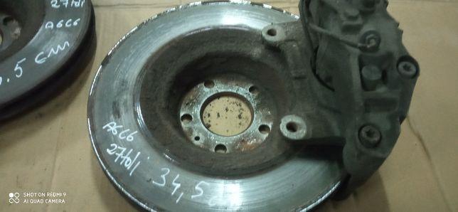 tarcza zacisk ATE tarcze przód 34,5 cm 345 mm audi a6 c6 2,7 tdi 3,0