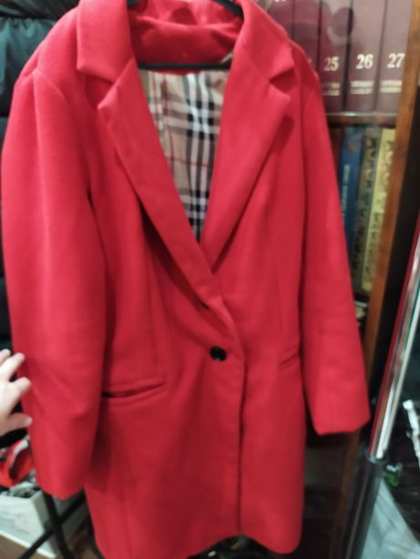 Пальто на подкладке , весна - осень