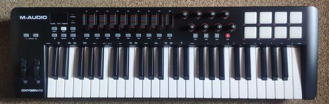 M-Audio Oxygen 49 - Piano/Teclado controlador MIDI