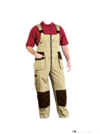 Spodnie monterski z kieszeniami Leber&Hollman Zilmer r.L-50,nowe