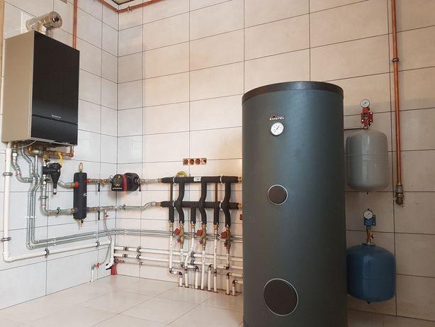 Instalacje Centralnego Ogrzewania, wod-kan, Ogrzewanie Podłogowe.