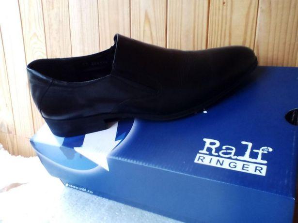Продам мужские черные туфли