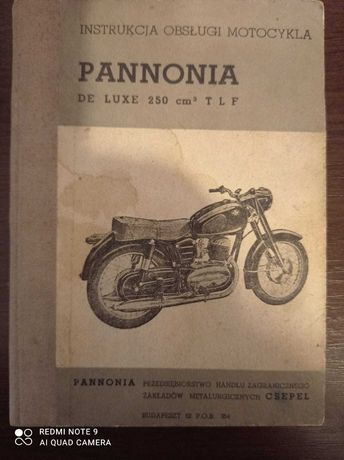 Instrukcja obsługi Panonia Lux