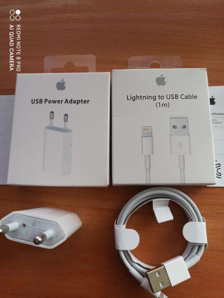 IPhone ładowarka kabel, kostka adapter 5/5s,6/6s, 7/8x xs, xr