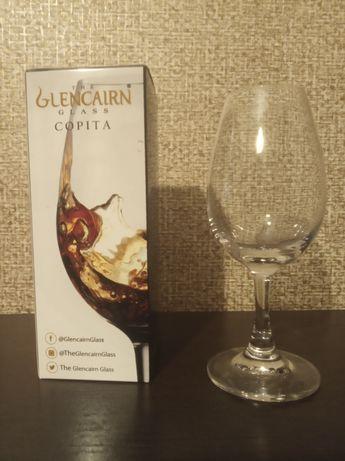 Бокал Glencairn Copita в подарочной упаковке. Бокал для виски на ножке