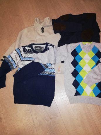 Swetry, rozmiar 116-128