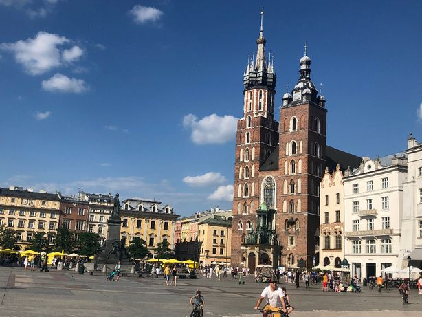nocleg Kraków centrum wolny pokój 2 osoby przy Wawelu