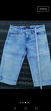 Levi's dżinsowe spodenki model Skimmer 134/140 NOWE