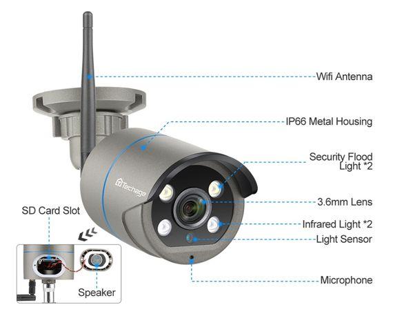 kamera zewnętrzna IP66 ip obsługa z telefonu iCSee nowa wysyłka