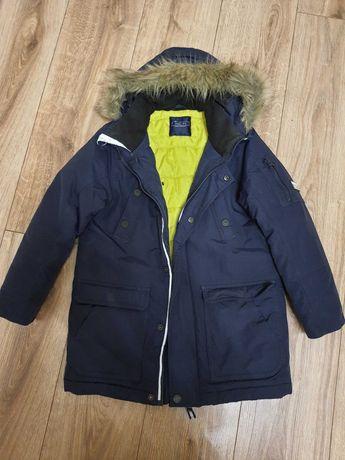 Курточка зимняя Next для мальчика размер 134