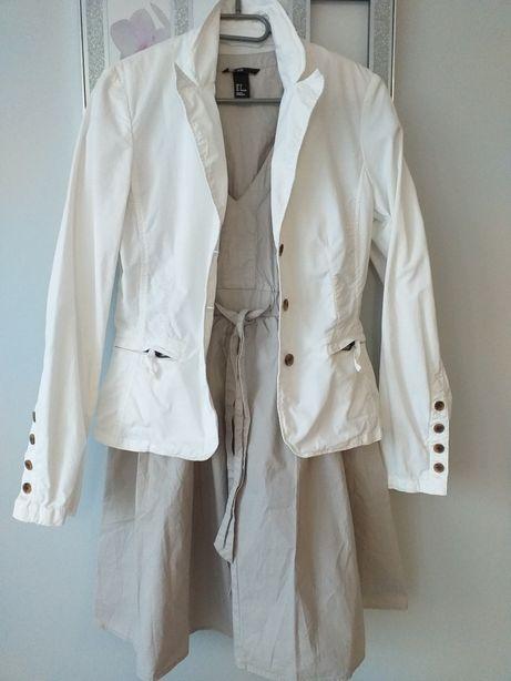 Sukienka H&M +zakiet+buty