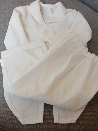 Zestaw ubranko do chrztu lub na roczek.