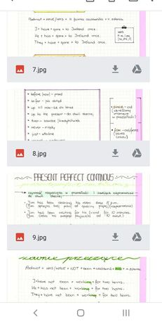 Notatki z angielskiego CZASY Liceum, technikum, sp