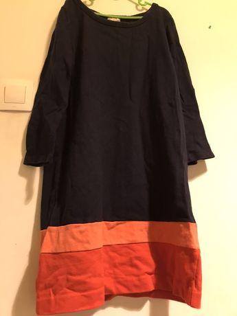 Prosta kolorowa sukienka Gap xs
